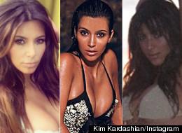 Kim Kardashian's Most Naked Snaps