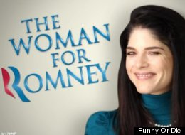 WATCH: The Only Woman Voting For Mitt Romney