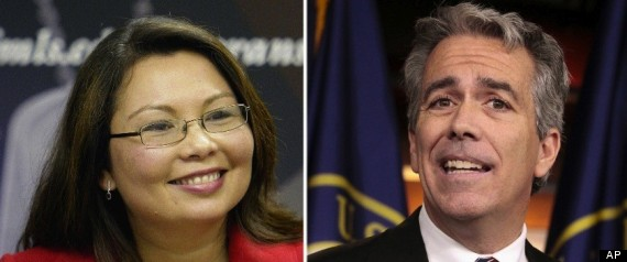 JOE WALSH TAMMY DUCKWORTH RACE ILLINOIS