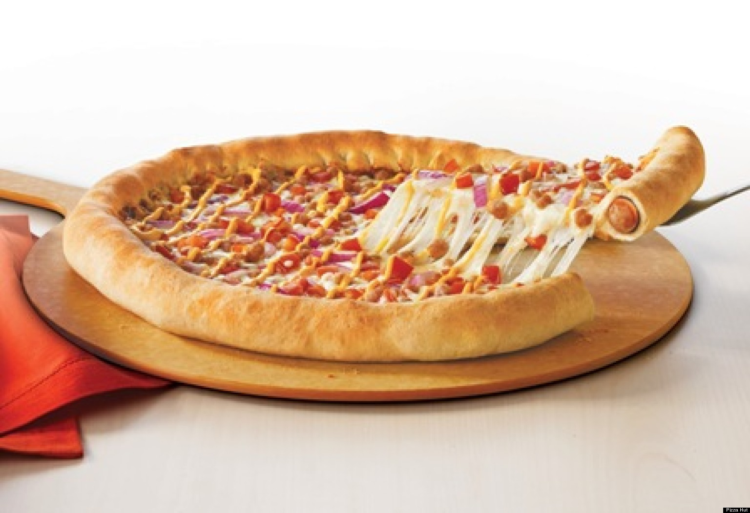Hot Dog Crust Pizza Uk