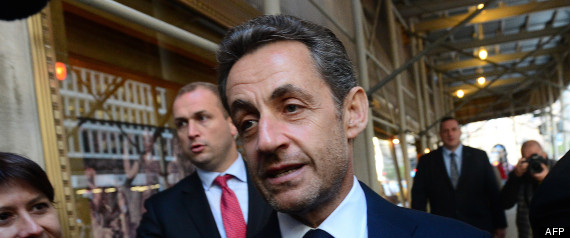 NICOLAS SARKOZY NEW YORK