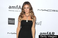 Sarah Jessica Parker Is Super Sleek In Little Black Jumpsuit