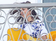 Kourtney Kardashian Wardrobe Malfunction: TV Star Gets Cheeky When Skirt Flies Up (NSFW PHOTOS)