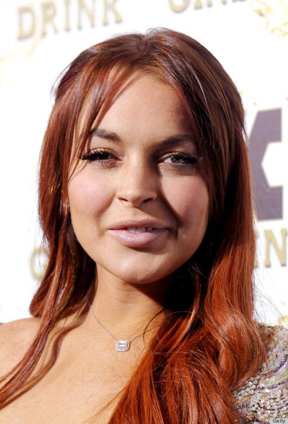 Lindsay Lohan S Red Hair Is All Wrong Photos Huffpost