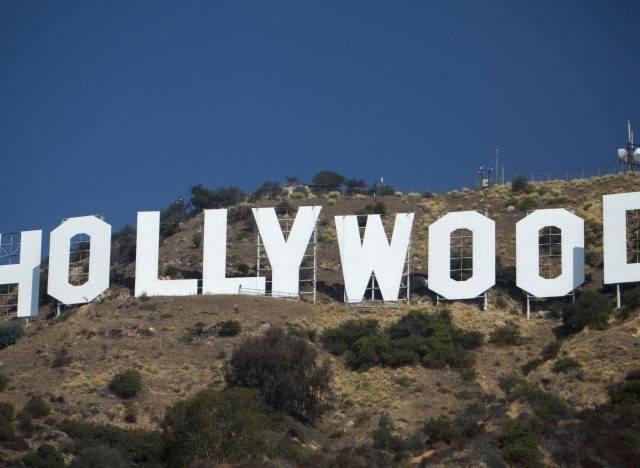 hollywood sign makeover