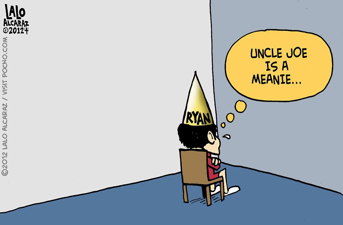 ryan in a corner