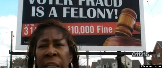 Voter Fraud Billboards