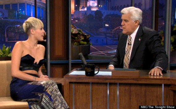 Miley Cyrus Cleavage Baring Top Teen Star Risks Having A Nip Slip On The Tonight Show Video