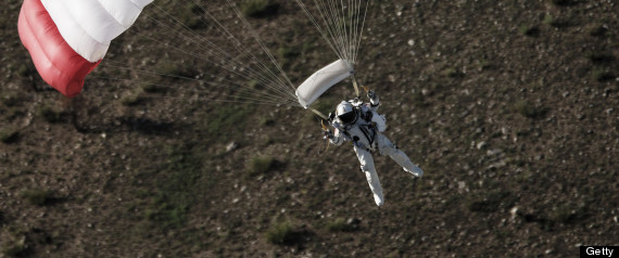 FELIX BAUMGARTNER SUPERSONIC JUMP