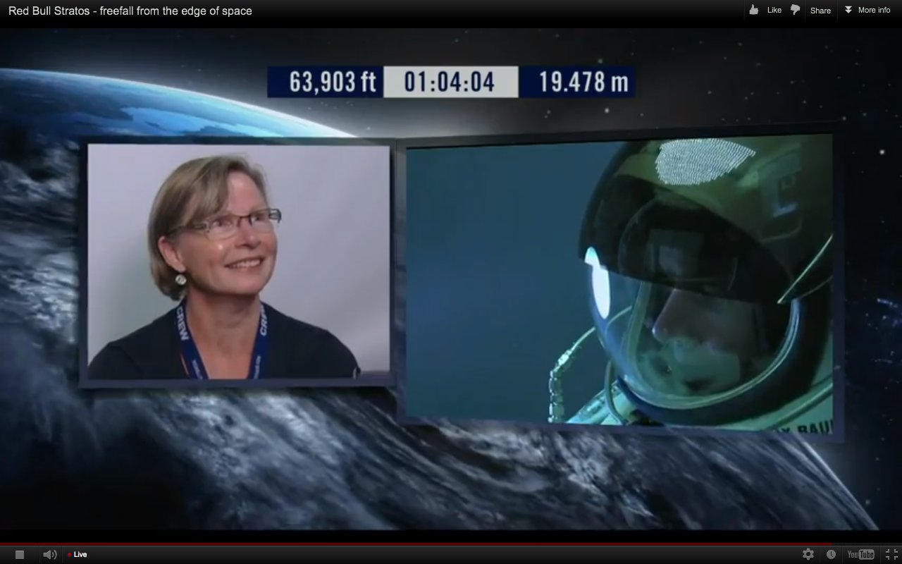 felix baumgartner and mom