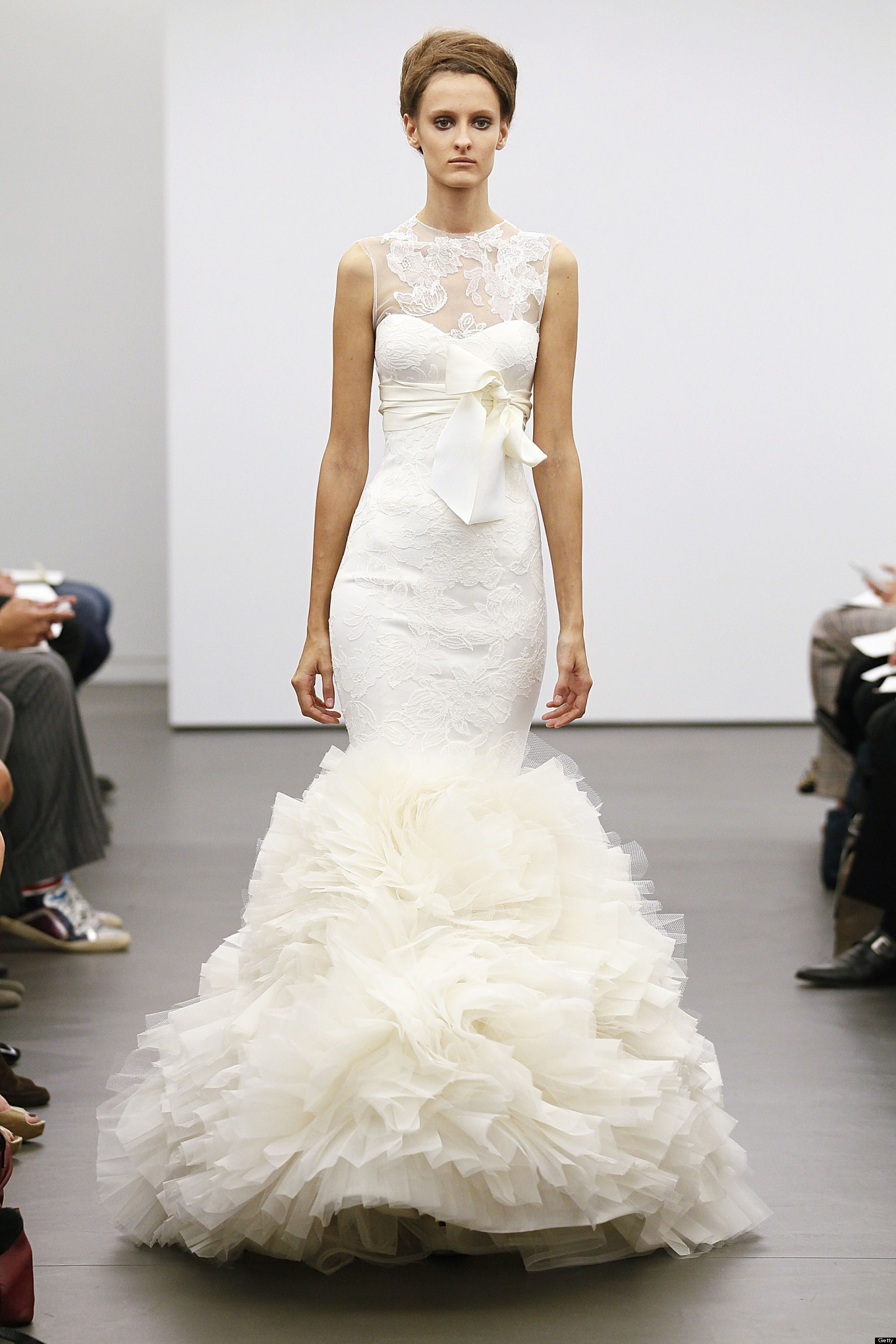 Vera Wang Fall 2013 Bridal Collection Features Classic Ivory, Lace ...