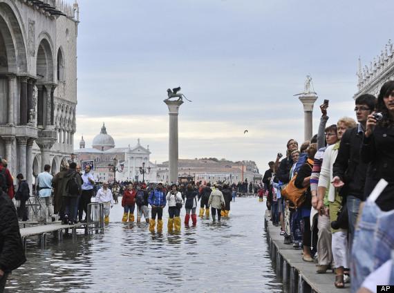flooded venice