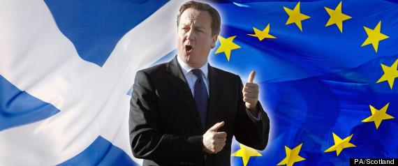 CAMERON EU AND SCOTLAND
