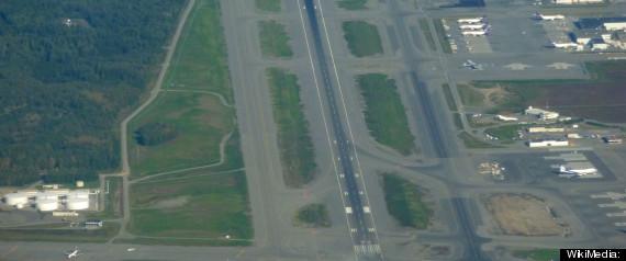ALASKA AIRPORT EVACUATED