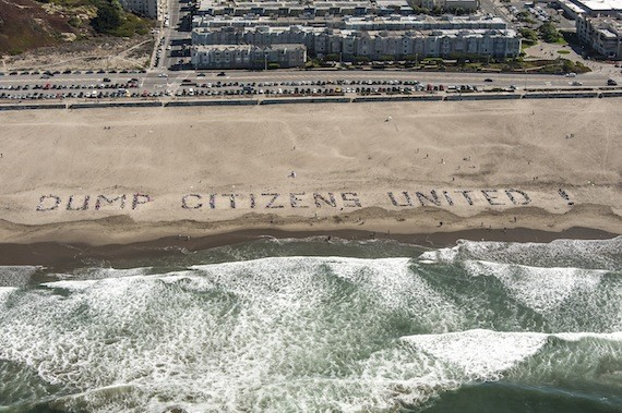 citizens united protest
