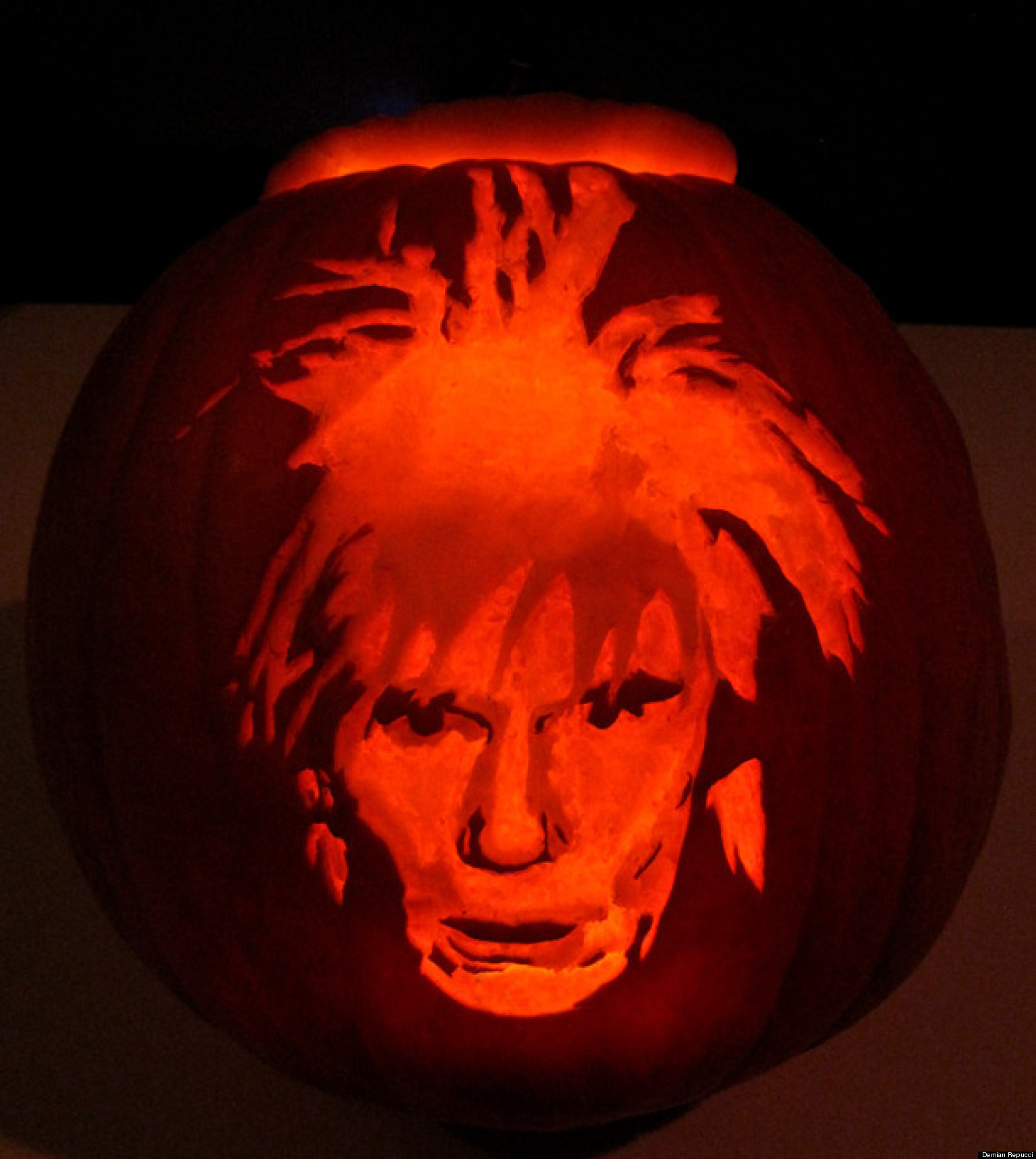 Art inspired pumpkin carving ideas from munch to warhol