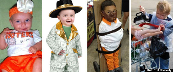 INAPPROPRIATE KIDS HALLOWEEN COSTUMES