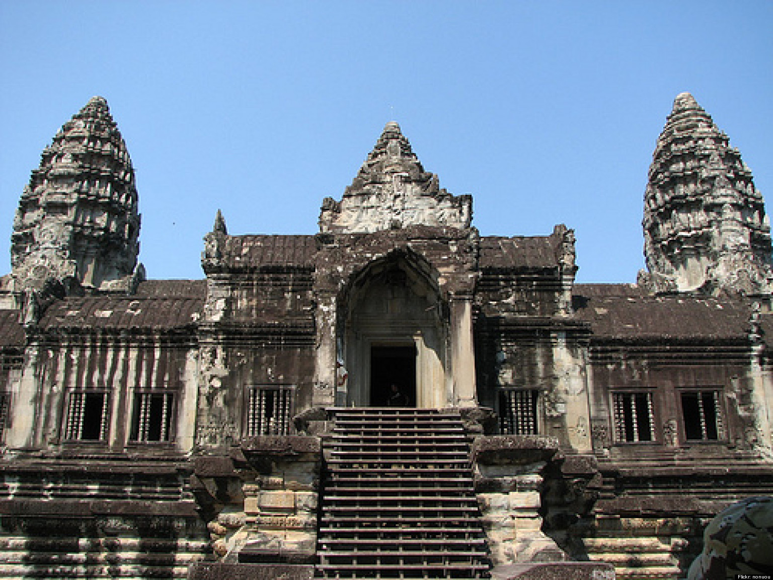 angkor wat built with help of ancient canals  google earth