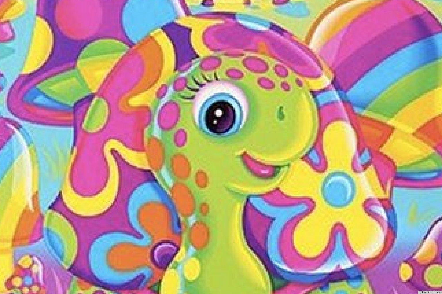 Lisa Frank Dolphin Wallpaper