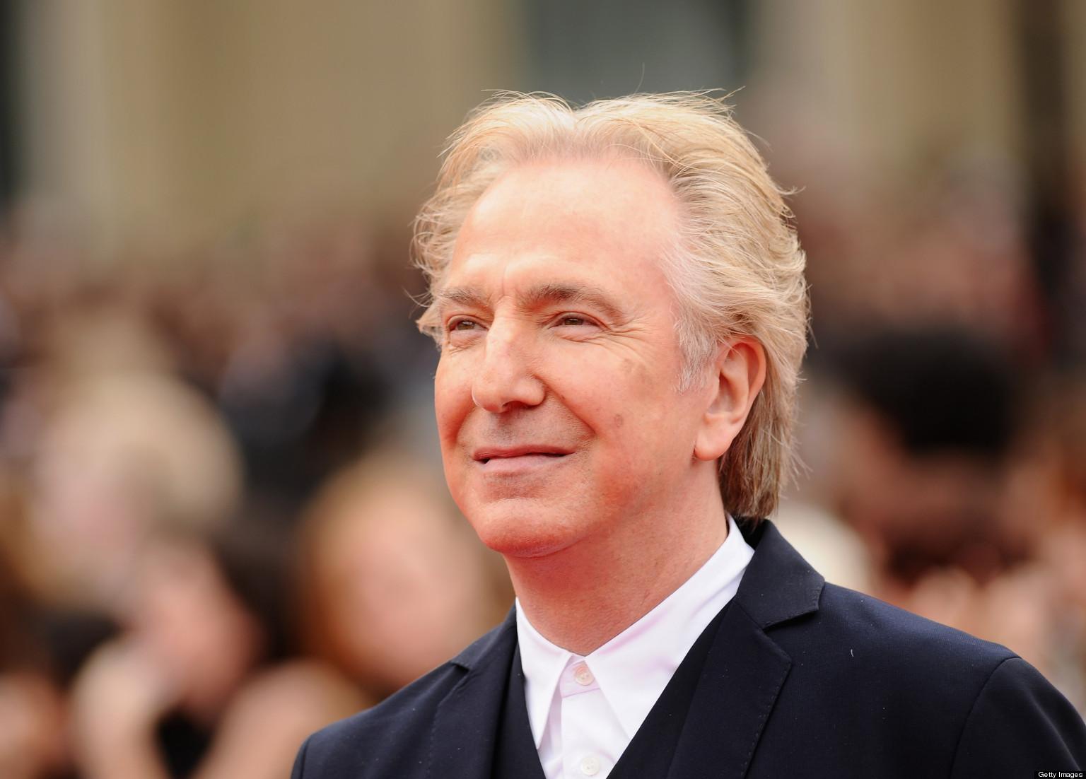 'Harry Potter': Snape Star Alan Rickman Told Story's End ...