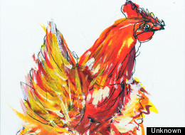 Did David Cameron Draw This Chicken?