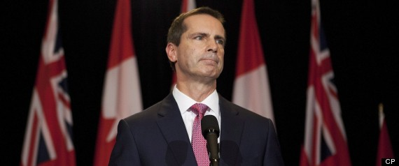 ONTARIO LEGISLATURE PROROGUED MCGUINTY