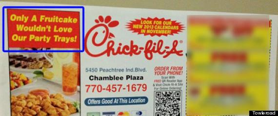 CHICK FIL A AD