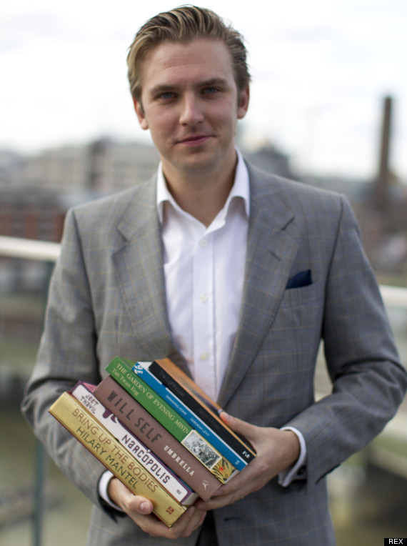 dan stevens making books sexy