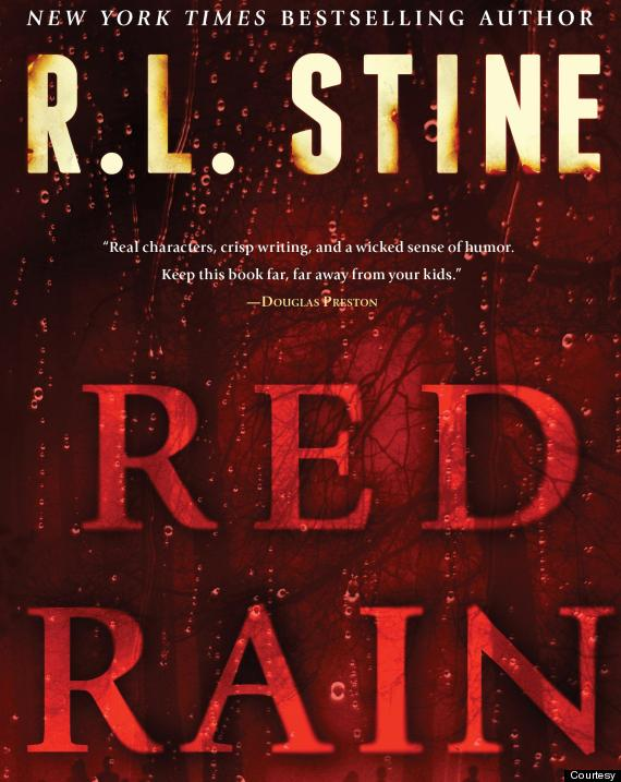 rl stine red rain