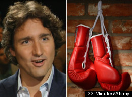 WATCH: Trudeau Reveals Wife's Feelings About Boxing Match