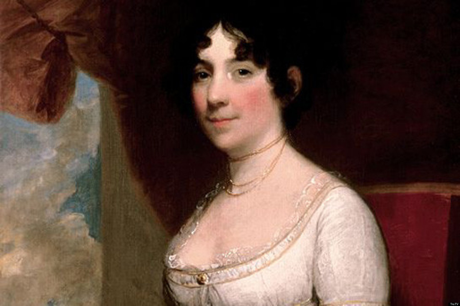 Real Photo of Dolley Madison