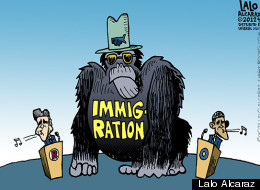 'TOON: The 800 Pound Immigrant No One Seems To See