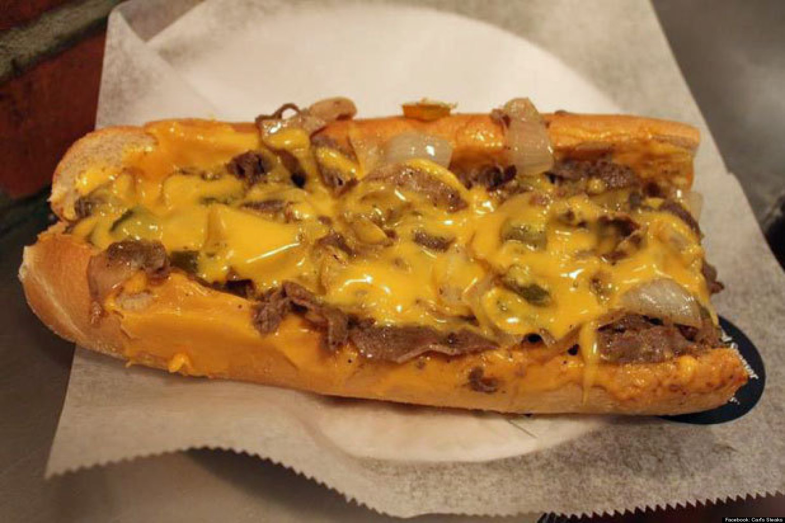goes mexican cheese steak recipes dishmaps philly goes mexican cheese ...