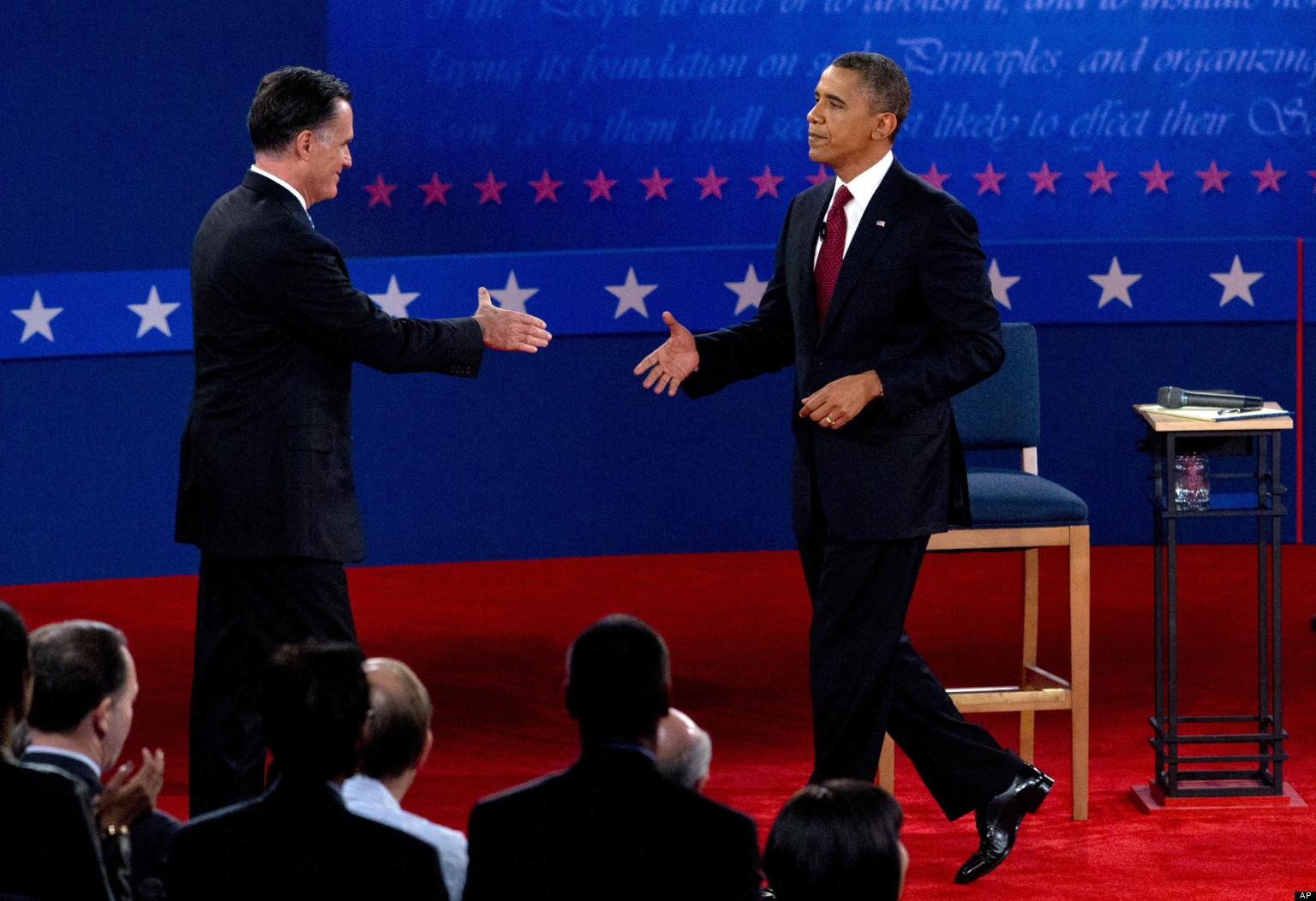 Essays on the presidential debate 2012