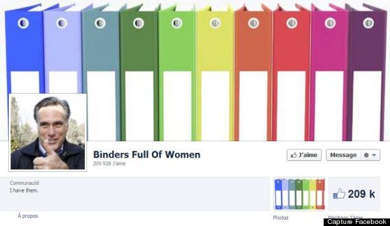 binders facebook