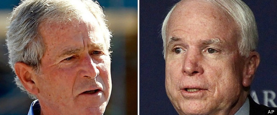 John Mccain George W Bush