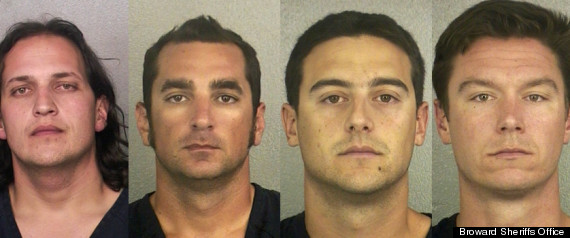 FOUR FORT LAUDERDALE FIREFIGHTERS ARRESTED
