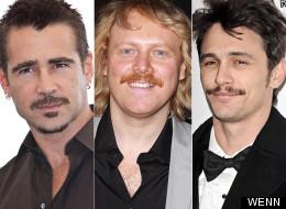Top 40 Celebrity Moustaches