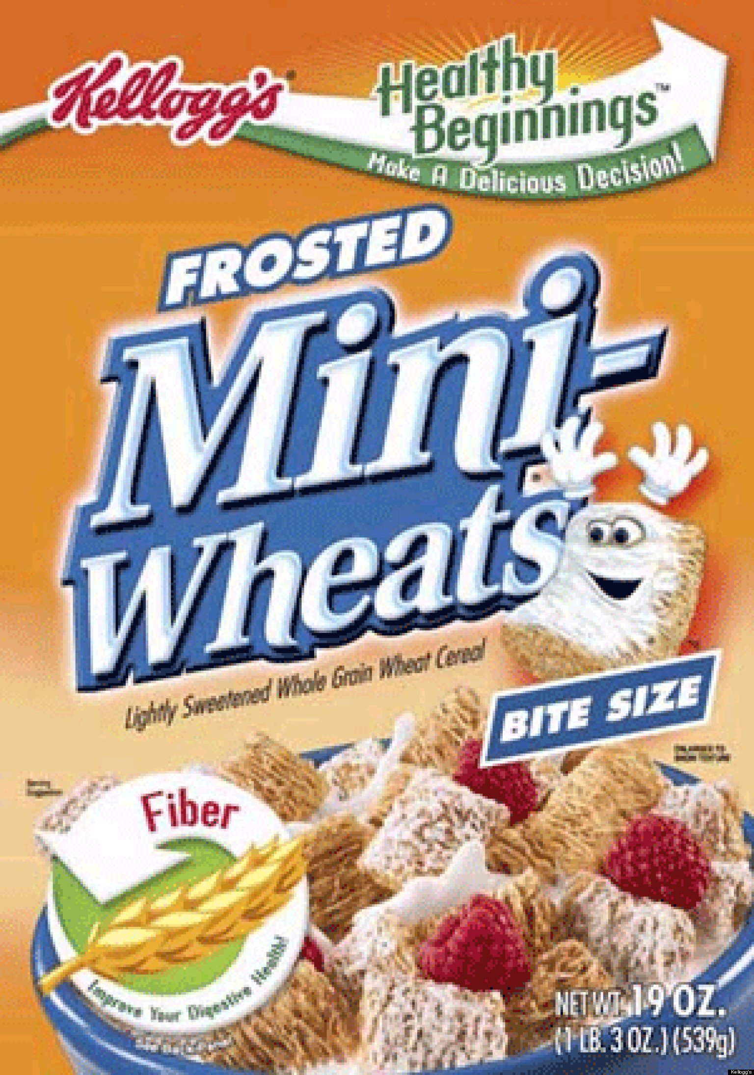 Mini-Wheats are the breakfast cereal made to fill you on Big Days. With ten layers of whole wheat and frosted just right, they're the perfect way to start your Big Day!