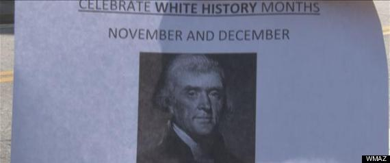 WHITE HISTORY MONTHS FLYER