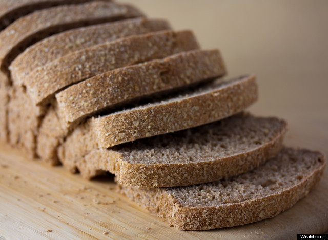 100% Whole Wheat Bread - Mildly Processed Foods