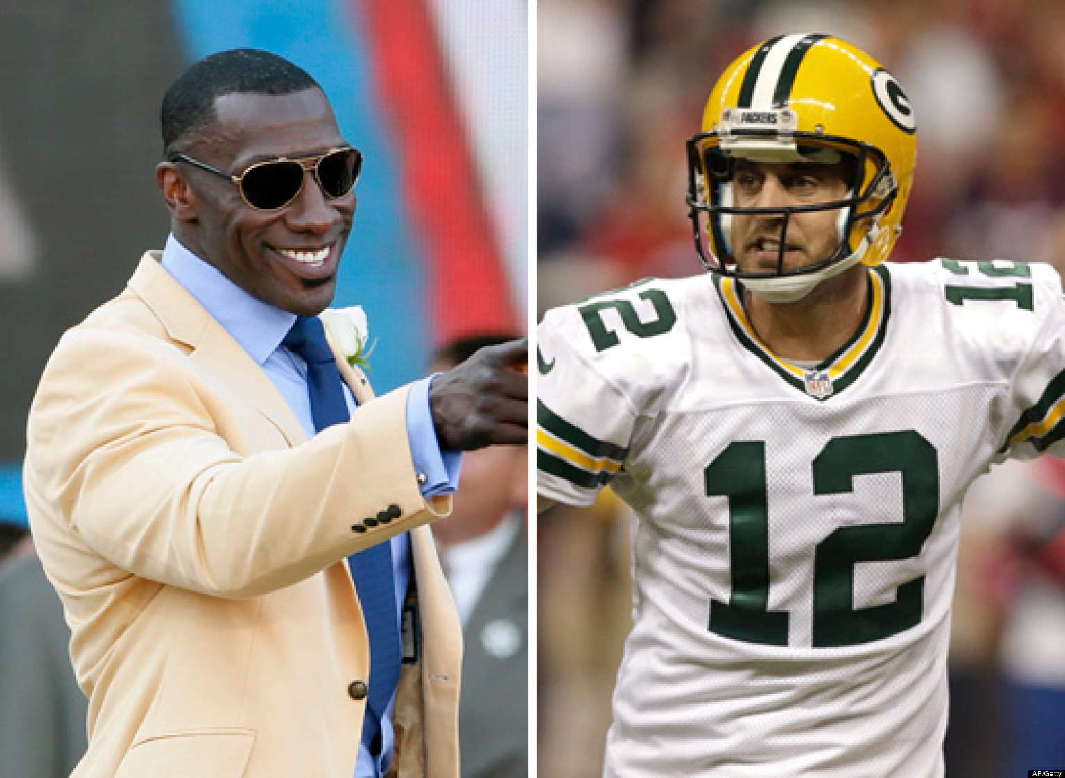 Sharpe Rodgers Facebook Aaron Calls Shannon Sharpes Criticism Stupid