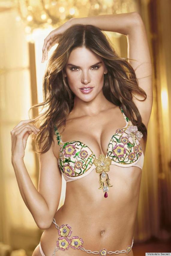 Fantasy Bra Costing $2.5 Million Unveiled By Victoria's ...