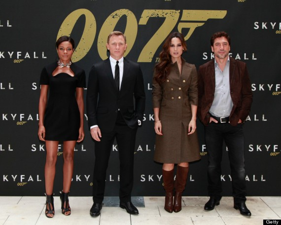 WATCH: 'Skyfall' Stars Daniel Craig, Dame Judi Dench, Javier Bardem
