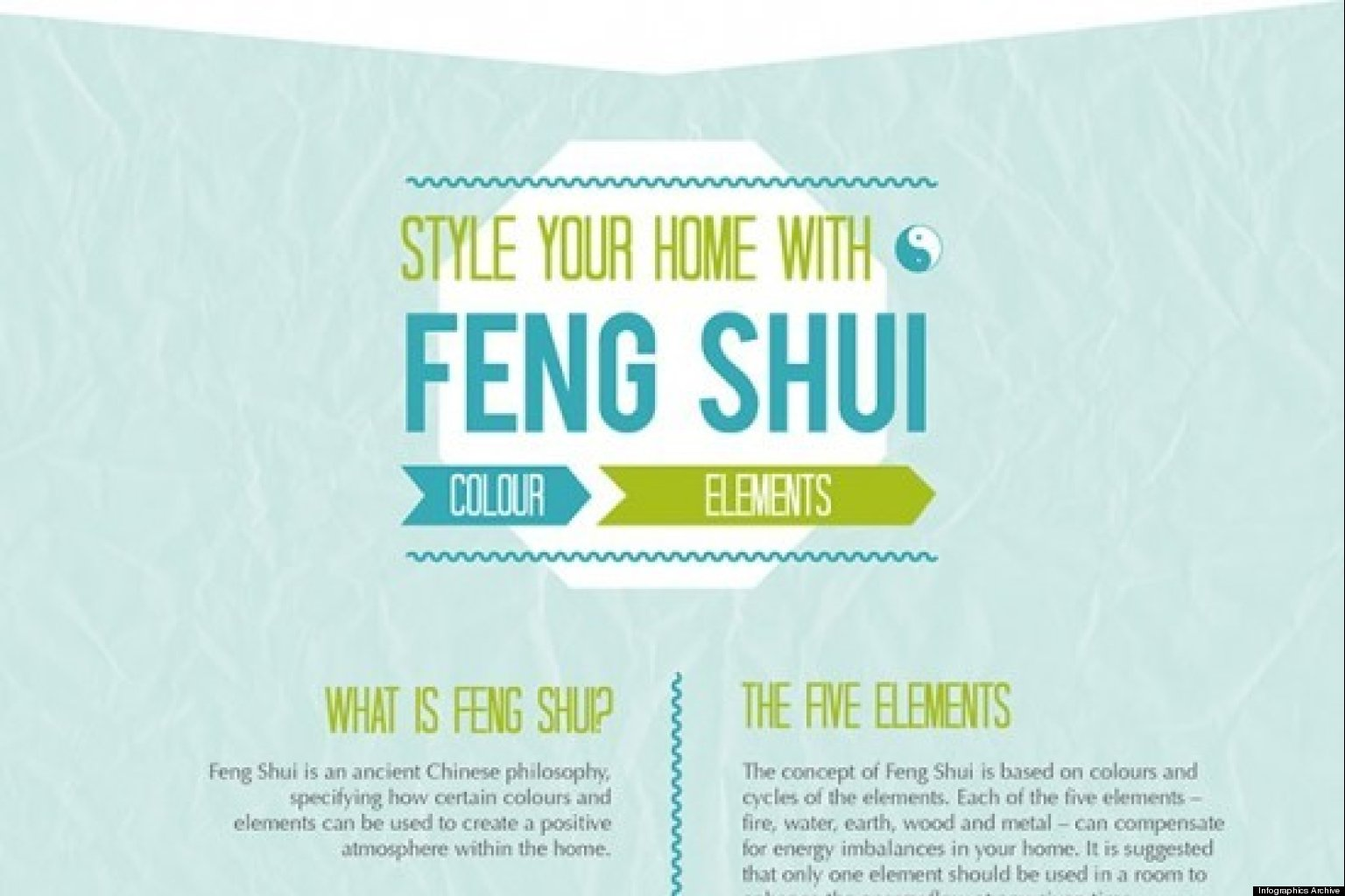 feng shui tips what it is and how it works infographic. Black Bedroom Furniture Sets. Home Design Ideas