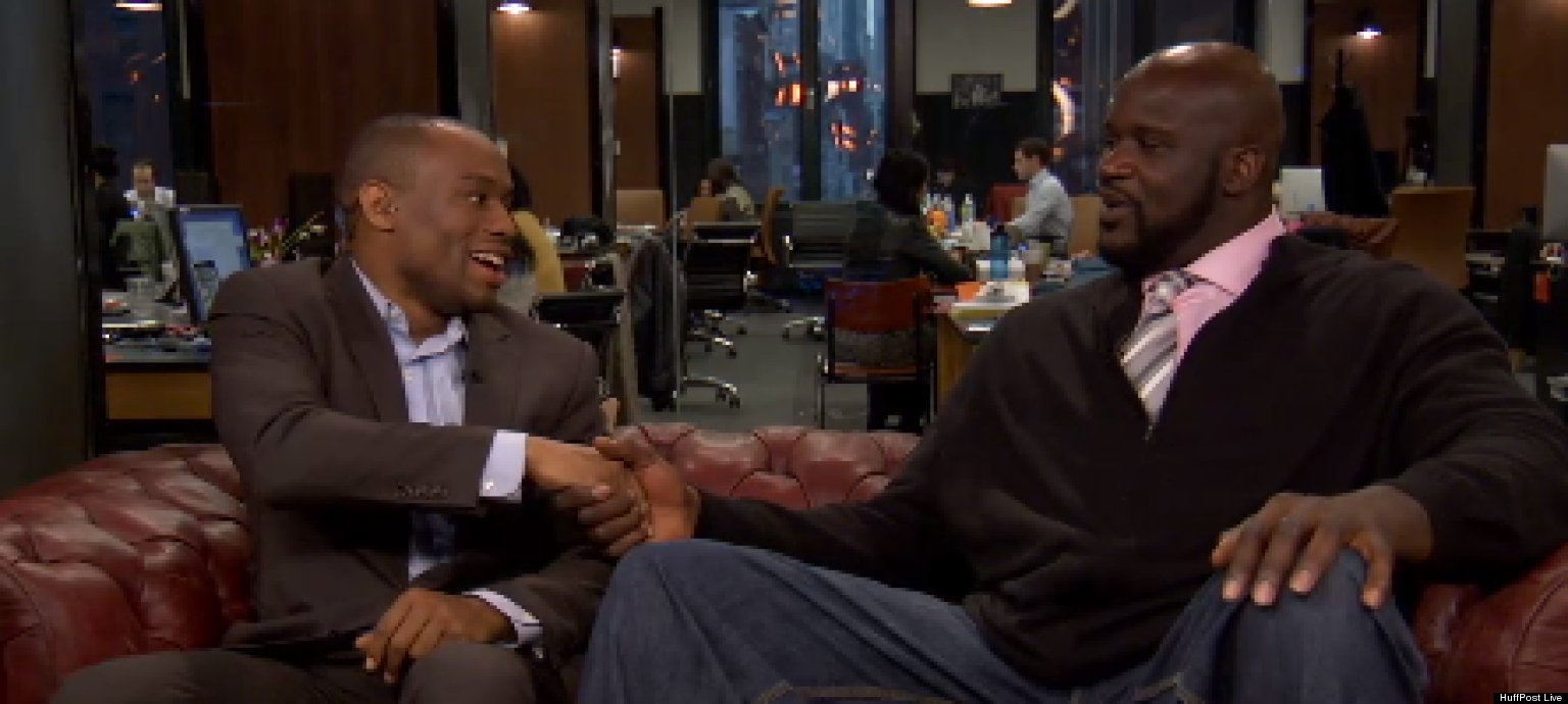 shaquille o 39 neal talks comedy dwight howard kobe bryant. Black Bedroom Furniture Sets. Home Design Ideas