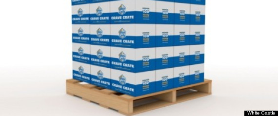 White Castle Crave Pallet