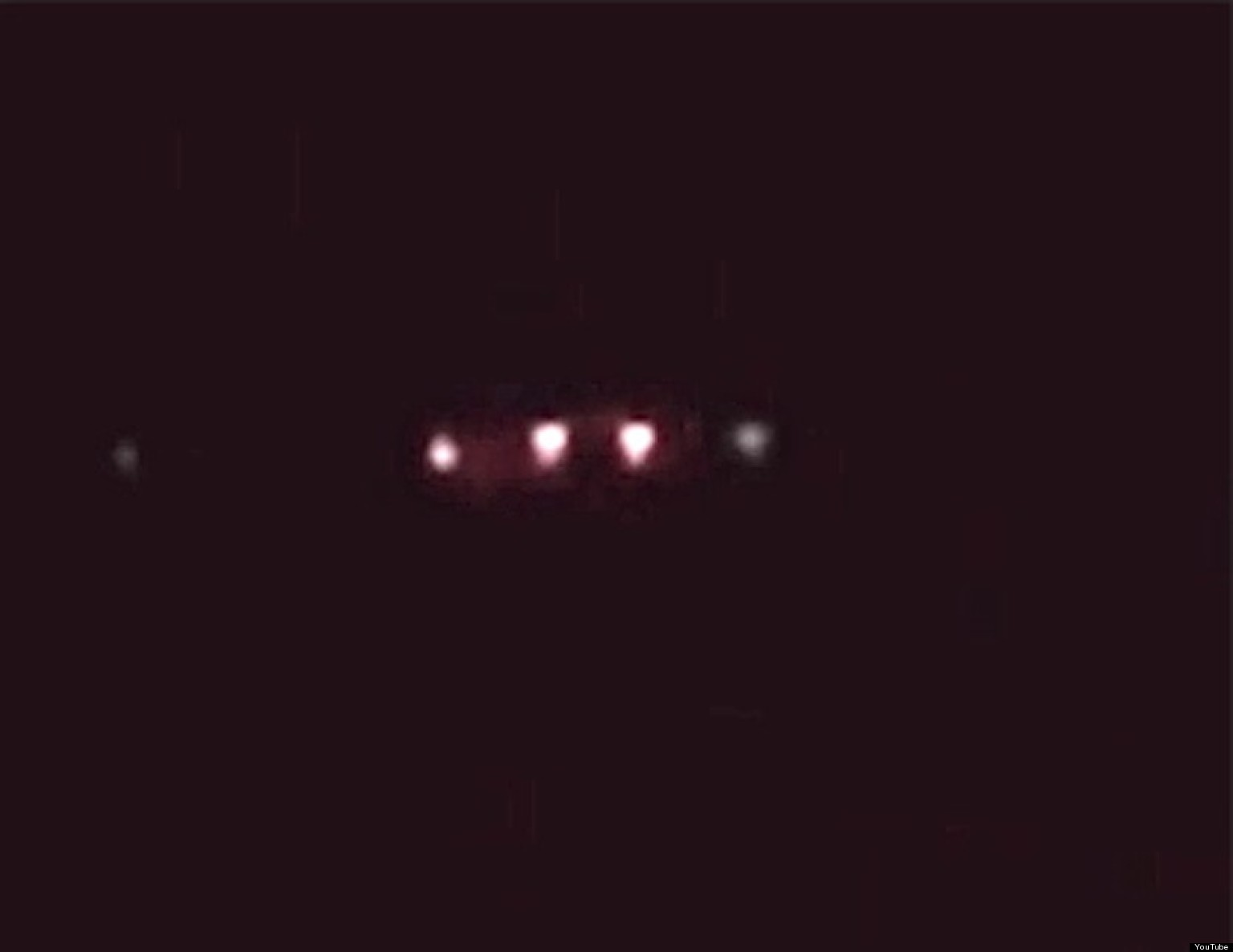 UFO Hovers For Hours A...