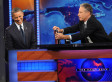 Jon Stewart Opens Obama Interview With Debate Jab: Shows President Photos Of Michelle's Reactions (VIDEO)