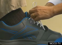 KICKIN' IT: America's Tallest Man Finally Gets Custom-made Size 24, 10E Tennis Shoes